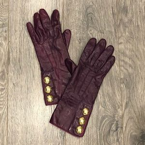 COACH   Vintage Leather Gloves